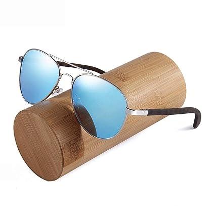 Easy Go Shopping Gafas de Sol de Madera polarizadas para ...