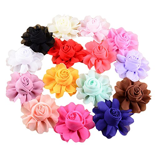 PET SHOW Dog Charms Flower Collar Accessories For Cat Puppy Collars Bowtie Valentine's Day Grooming Pack of 15 by PET SHOW