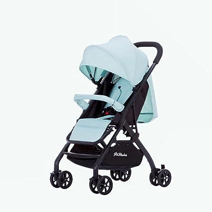 baby stroller Cochecito De Bebé Ultra Ligero Paraguas Plegable Plegable Cochecito De Bebé Puede Sentarse Reclinable