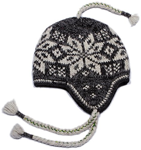 Big Snowflake Ear Flap Hat - Everest Flap Hat