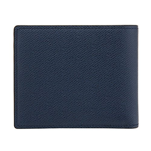 Men's LQ Leather Wallet QUATORZE LOUIS Navy Cow SI1AH08NA Bifold Navy FH1xwH7qrE