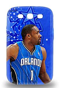 Forever Collectibles NBA Orlando Magic Gilbert Arenas #1 Hard Snap On Galaxy S3 3D PC Case ( Custom Picture iPhone 6, iPhone 6 PLUS, iPhone 5, iPhone 5S, iPhone 5C, iPhone 4, iPhone 4S,Galaxy S6,Galaxy S5,Galaxy S4,Galaxy S3,Note 3,iPad Mini-Mini 2,iPad Air )