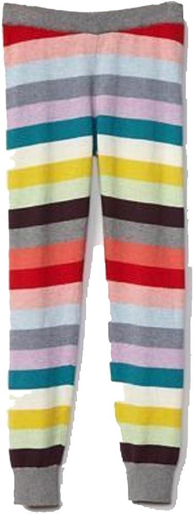 GAP Kids Girls Crazy Stripe Wool Blend Sweater Leggings Large 10