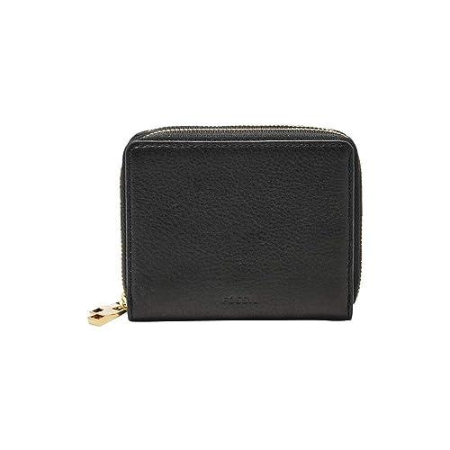 FOSSIL RFID Mini Multi Wallet Black: Amazon.co.uk: Shoes & Bags