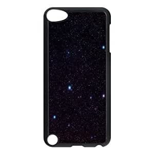 [Stars & Space Series] Ipod Touch 5 Cases W Stars, Ipod Touch 5g Case Hard Kweet - Black