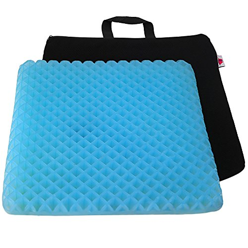 (FOMI Premium Firm All Gel Orthopedic Seat Cushion Pad (15