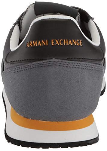 Exchange Fashion Men A Retro Grey Armani Sneaker Running X pwzq6P