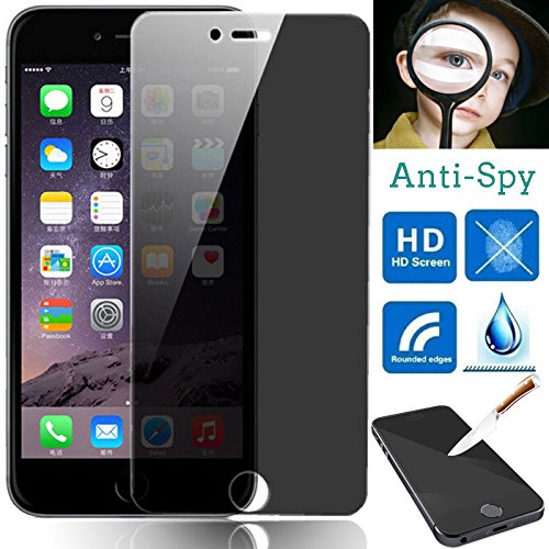 Glass Tinted Tempered (For Apple iPhone 7 Privacy Anti-Spy/Scratch Tempered Glass Screen Protector 4.7