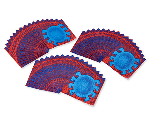 American Greetings Spider-Man 2 48-Count Paper Party Napkins, Lunch Napkins by American Greetings