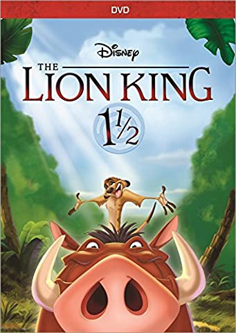 The Lion King 1 1/2 (The Lion King Dvd Spanish)