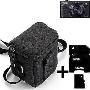 K-S-Trade® Para Canon PowerShot SX740 HS Cámara Bolsa Funda De ...