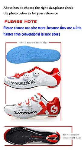 Men Cycling Bike MTB B Women Mountain Red White Adult Shoes vqxTrwv