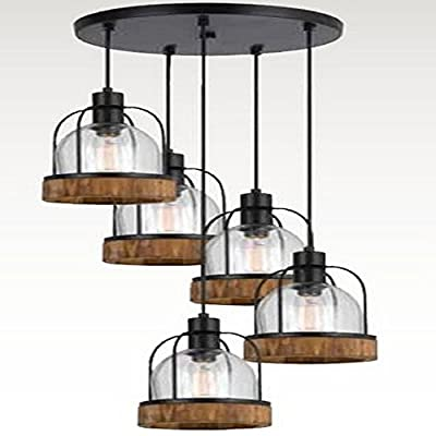 Cal Lighting FX-3584-5 Five Light Pendant