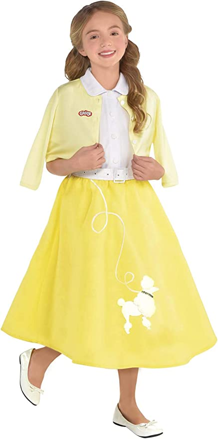 Vintage Style Children's Clothing: Girls, Boys, Baby, Toddler Grease Summer Nights Sandy Costume Set - Small $44.00 AT vintagedancer.com