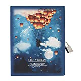 Parachute Journal with Lock and Key Mini Daily Recording Notebook Parachute 144 Page 4.1
