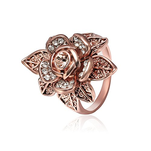 Flowers Rose Ring - 8