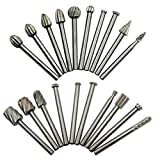 Electric Grinder high Speed Steel Grinding Head Grinding Head Rotating Woodworking Boring Cutter milling Cutter 20pc