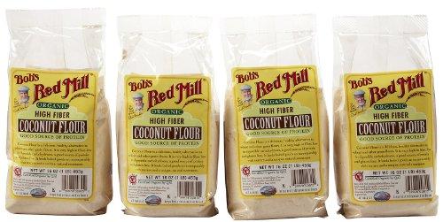 Bobs Red Mill Coconut Flour (Bob's Red Mill Organic Coconut Flour - 16 oz. - 4)