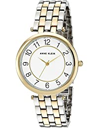 Women's AK/2701WTTT Easy To Read Dial Two-Tone Bracelet Watch