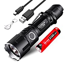 Klarus XT11GT Is Klarus XT11S Upgraded Version Cree XHP35 Hi D4 2000 Lumens USB Rechargeable LED Torch Tactical Flashlight