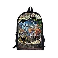 Xinind Cool 3D Animals Children School Book Bag Printing Kids Backpacks