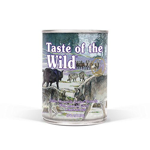(Taste Of The Wild Grain Free Real Meat Recipe Premium Wet Canned Stew Dog Food (12) 13.2 oz. Cans)