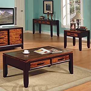 Steve Silver Abaco 3 Piece Set Coffee Table 2 End Tables Kitchen Dining