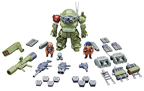 Votoms Red Shoulder Document ambition of roots D- style Scopedog turbo custom Sansa warfare specification Guregoru machine & amp; Baiman machine & amp; smoother machine (NON scale Plastic model) - Non Turbo Stage