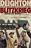 Blitzkrieg: From the Rise of Hitler to the Fall of Dunkirk by Len Deighton front cover