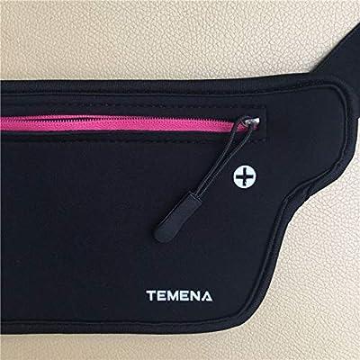 DeemoShop Fanny Pack Women Men Waist Bag Colorful Unisex Waist Bag Belt Bag Zipper Pouch Packs Waterproof Casual Waist Pack Waist Bag