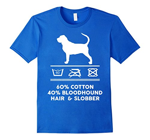 Mens That is How My Cute Bloodhound Shirt Looks Like Medium Royal Blue