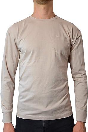 Pierre Cardin Hombre Camiseta Pastel Manga Larga 100% Algodón ...