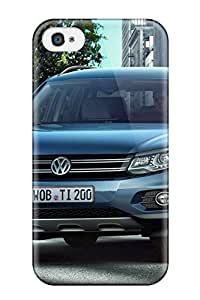 New Volkswagen Tiguan 36 Tpu Skin Case Compatible With Iphone 4/4s