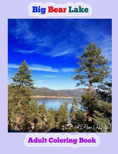 Bears Sledding (Big Bear Lake: Adult Coloring Book)