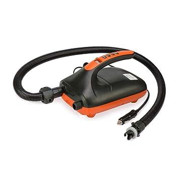 Bomba inflable eléctrica SUP portátil Tabla de surf Coche dedicado Bomba de alta presión Voltaje 12 V Potencia 110 W Esenciales de viaje al aire libre: ...