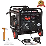 TOMAHAWK 15 HP Engine Driven Portable 2,000 Watt Generator with 210 Amp Stick and TIG...