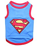 Parisian Pet Superman Dog T-Shirt, X-Large