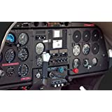Home Comforts Laminated Poster Instrument Panel Gauges Airplane Cockpit Aircraft Poster Print 24 x 36
