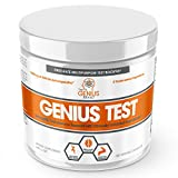 GENIUS TEST - The Smart Testosterone Booster For Men | Natural Energy Supplement, Brain & Libido...