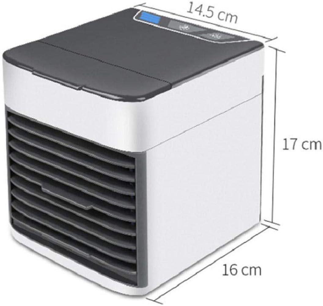 Aire Acondicionado Ventilador frío Nuevo televisor Enfriador de Aire de Segunda generación Mini refrigerador de Aire USB Escritorio Conveniente @ White_Air Cooler Segunda generación: Amazon.es: Ropa y accesorios