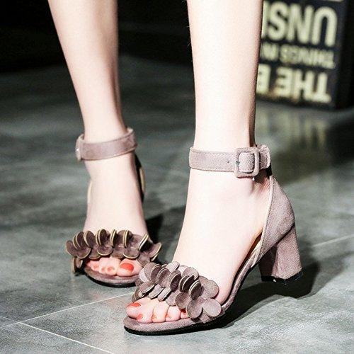 Sandali Open Toe Con Cinturino Alla Caviglia E Cinturino Alla Caviglia Con Cinturino Alla Caviglia