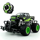 OWIKAR Smartwatch Voice Remote Control Car, High-Speed Rock Off-Road Vehicle 2.4Ghz Buggy Electric Fast Race Hobby Car Toy for Boys, Kids (Off-road car)