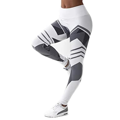 Kanggest.Pantalones de Yoga Pilates de Las Mujeres Deporte ...