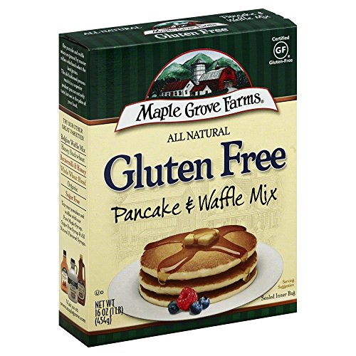 MAPLE GROVE MIX PNCAKE WAFFLE GF ALNTRL, 16 OZ Pack of -