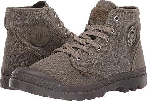Palladium Men's Pampa Hi Dark Olive 7 M - Olive Footwear Canvas