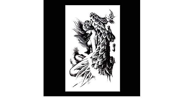 Ángel plegable brazo de flor ángel de belleza ángel caído oscuro ...