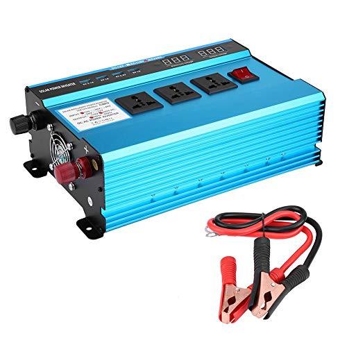 Sine Wave Solar Power Inverter, 10000W DC12V to AC220V Modified Sine Wave Converter Power Inverter With Higher Conversion Rate ()