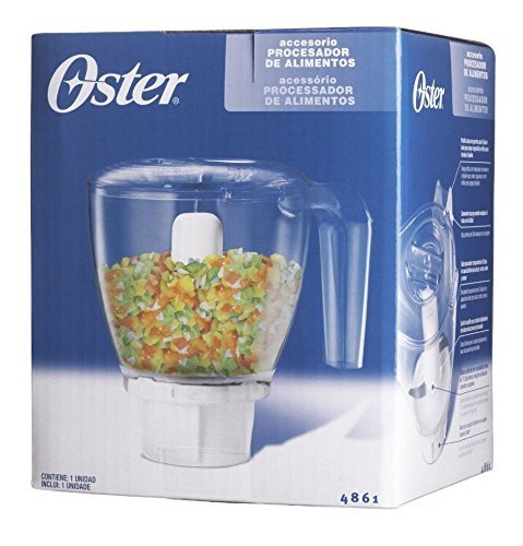 NEW!! Oster Blender Food Processor Chopper Attachment 3 Cup Capacity 4861 (Ninja Blender Adapter compare prices)