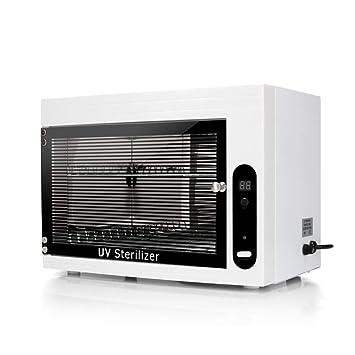 UV* Esterilizador, Gabinete De Desinfección Esterilización De Toallas por Temperatura Caja para Hogar SPA Peluquería Máquina Profesional para Herramientas ...