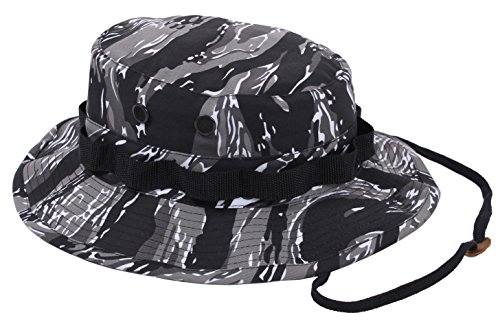 Tiger Golf Hat - Rothco Boonie Hat Urban Tiger Camo - (7 1/4) Inch